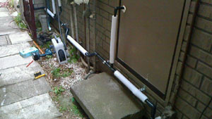 給水管引き直し工事1